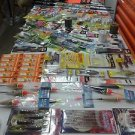 Large 100 + Pieces Assortment of fishing tackle fresh & salt water