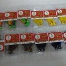 lot 24 pieces of Team Luck E Strike Super Hot Bucktail Jigs 1/2 & 1/4 oz