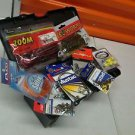 TACKLE BOX FULL OF BRAND NEW AND BRAND NAME TACKLE + 1 Reel & Rod COMBOS