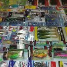 LOT 100+ pieces excellent accessories of fresh & salt & fly & ice fishing tackle