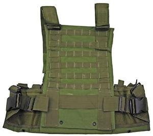 MOLLE Web Tactical Vest - OD Green
