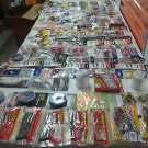Large 100 pieces + accessories of fishing tackle fresh & salt water brand new