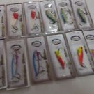 "LOTS OF 12  Luck ""E"" Strike KILLER LURES mixed color's"