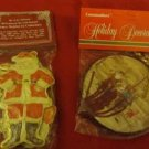 2 Packs Christmas Tree Ornaments Decorations Gift Package Tags New Fancy Santa