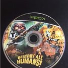 Destroy All Humans Original Xbox Game Disc Only THQ Microsoft