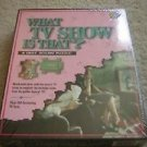 TV Show Puzzle Quiz Jigsaw Puzzle Buffalo Games Trivia Knowledge New Sealed Box