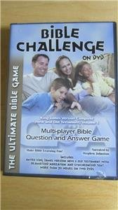 Bible Challenge Question Answer Game on DVD King James Version Vol 1