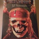 Pirates of the Caribbean 32 Valentine Day Cards and Seals New Box Disney