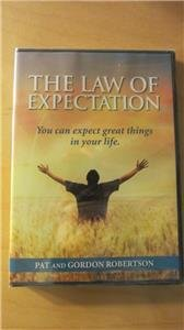 CBN The Law of Expectation Pat Gordon Robertson DVD Brand New Sealed
