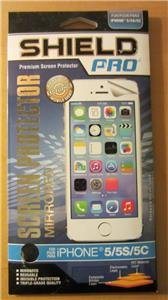 Screen Protector Shield Pro Premium for iPhone 5/5S/5C New Mirrored Reusable