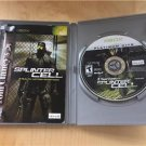 Tom Clancy's Splinter Cell Platinum Hits Microsoft Xbox Game Sam Fisher