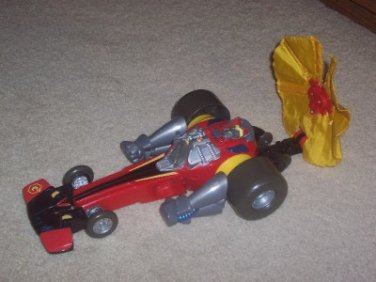 Hasbro 2003 Playskool Go-Bots Speed Bot Dragster Transformer Hasbro Takara