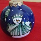 Statue of Liberty Snowman Ornament Bulb Our Name is Mud NIB NYC 2004 Christmas