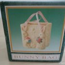 Easter Bunny Rabbit  Bag Decoration The Jade Collection with Box