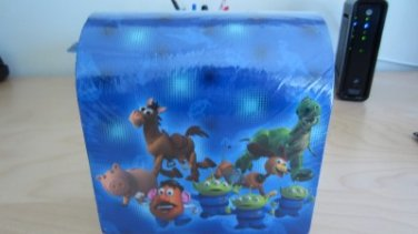 Toy Story 3 Pixar 32 Valentines and Seals Keepsake 3D Mailbox New Kids Girls Boy