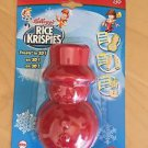 Kellogg's Rice Krispies Mold 2 Piece Red Winter Christmas Snowman Treats in 3D