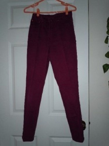 Girls Jordache Jeans Pants Size 16 Maroon 100% Cotton Everyday All Season