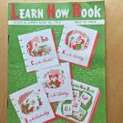 VTG Coats and Clark's Learn How Book Knitting Crochet Tatting Embroidery 1959