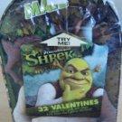 Shrek Valentines Day Cards 32 Cards w/ Seals in Keepsake Light Up Mailbox New