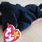 1996 Ty Plush Beanie Babies Doby Dog New Stuffed Animal Blak