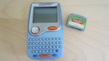 iQuest Handheld 4.0 LeapFrog Grades 5-8 Starter Pack Cartridge Boys Girls Games