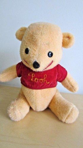 Winnie The Pooh Plush Vintage Stuffed Animal Bear Disney Pooh Bear