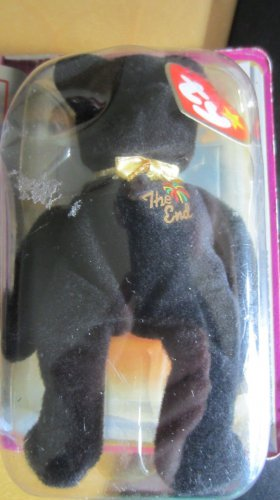 TY International Bears End Bear McDonalds Premium Teenie Beanie Babies Black NIP