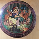 Vintage Disney Candy Tin Snow White Movie Decorated Metal Container Princess