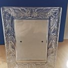 "Handmade Lead Crystal Picture Frame Clear Roses 3.5"" x 5"" Picture Frame 6"" x 8"""