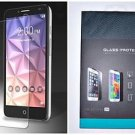 REAL TEMPERED GLASS SCREEN PROTECTOR FOR ALCATEL ONE TOUCH FIERCE XL
