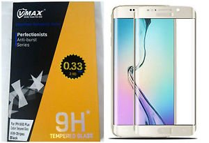 VMAX Full Curved 2.5D Screen Protector 0.2mm For Sam Galaxy S6 Edge Plus Golden
