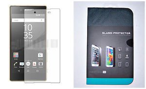 Transparent Tempered Glass Film Screen Protector for Sony Xperia Z5 Premium