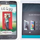 Transparent Tempered Glass Screen Protector LG Optimus L70 MS323