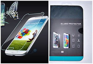 For Samsung Galaxy S4 Glass Screen Protector Real Tempered