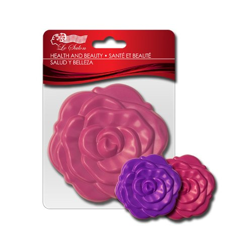 Flower Round Folding Double Side Compact Mirror