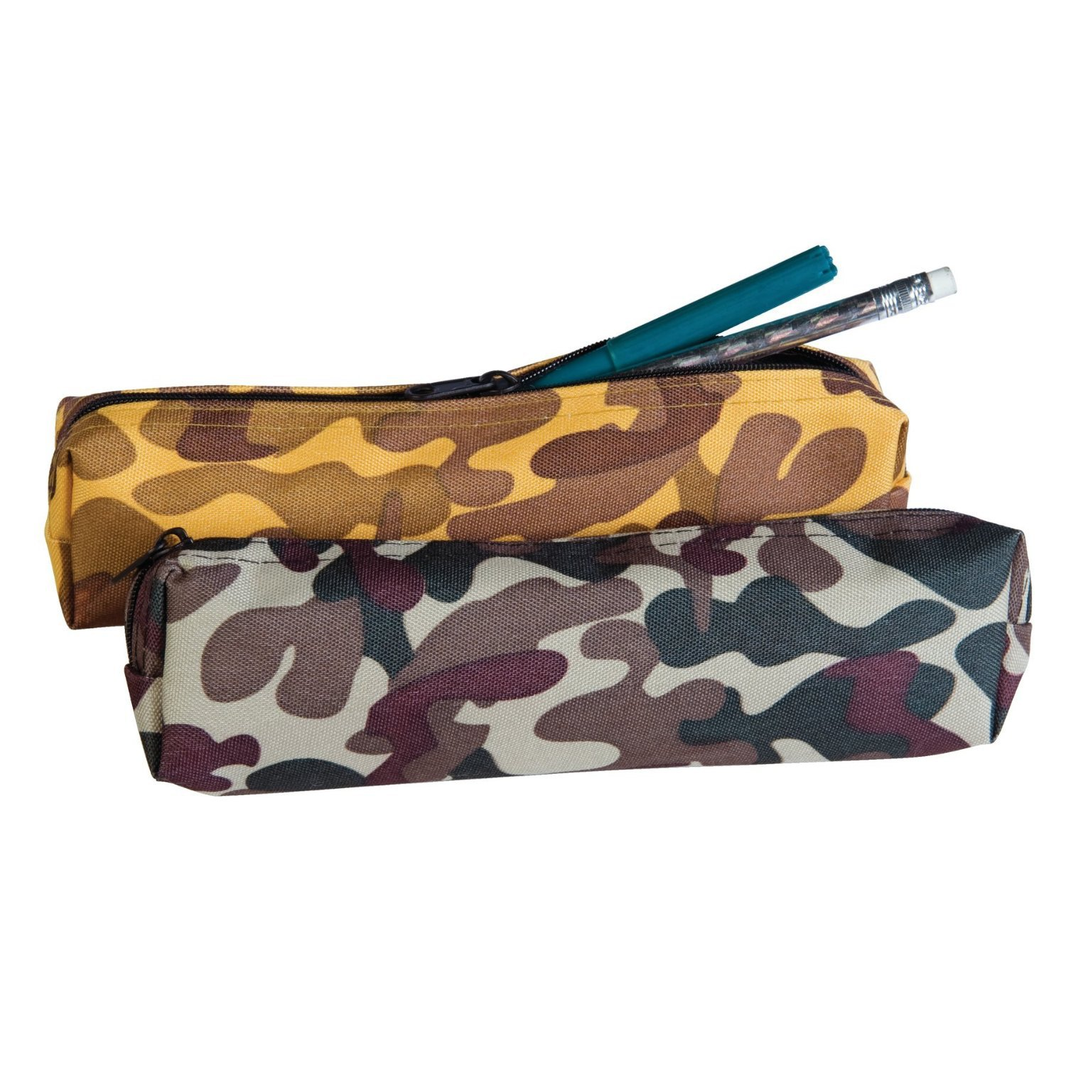 Camo Keepers Pencil Pouch / Case 1pc Assorted Colors