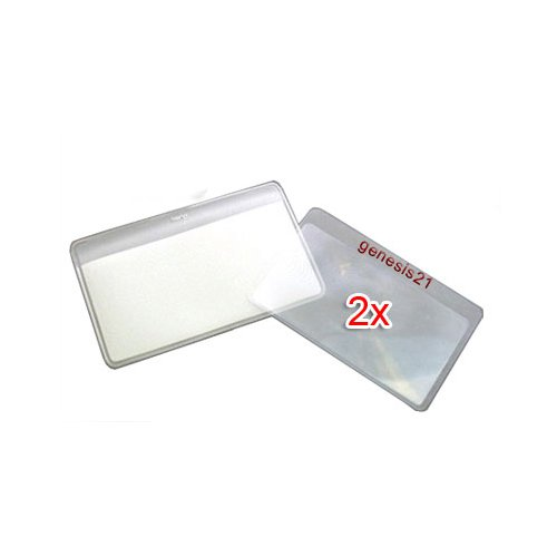 "2x 3.1/2"" Credit Card Magnifier"