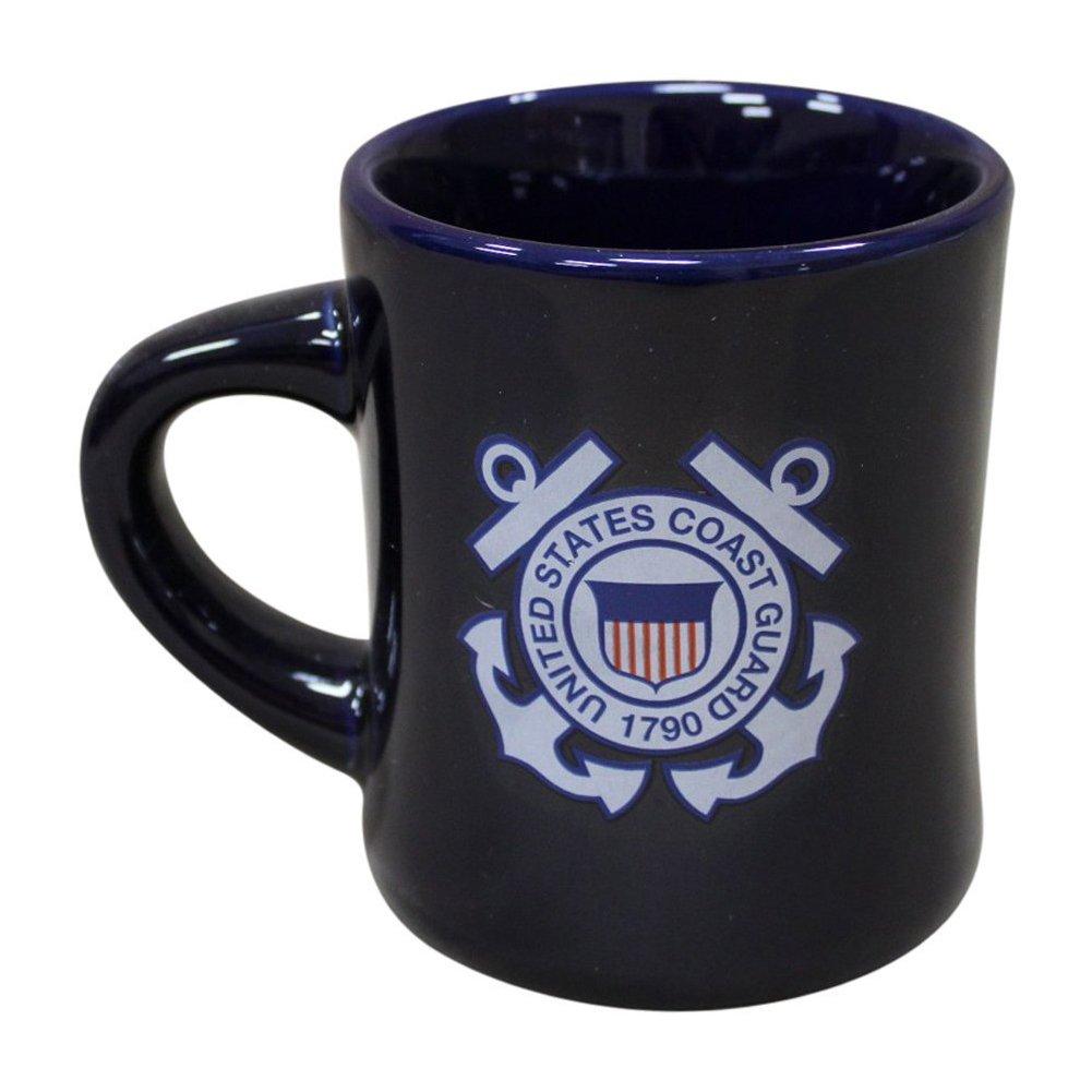 United States Coast Guard Navy Military Stoneware Coffee Diner Mug