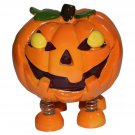 Spring Leg Pumpkin Monster Coin Bank
