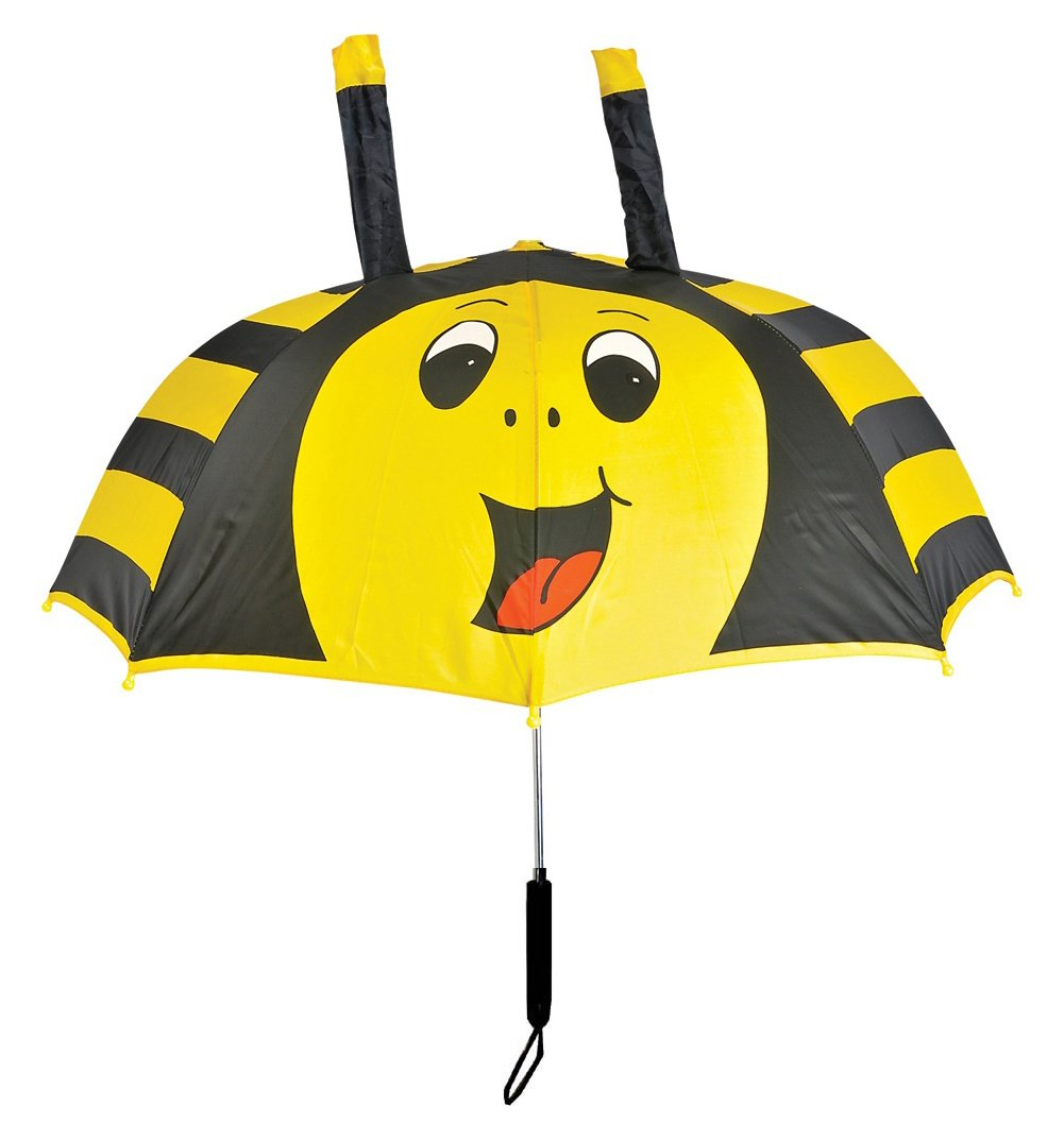 Kids Bumble BEE Umbrella for Children 28 inch Rain Gear
