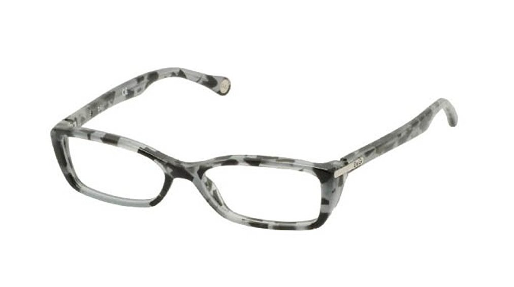 Dolce & Gabbana Gray Black Transparnet Optical Eyeglasses Frame D&G1218 1779