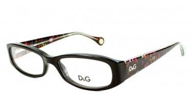 Dolce & Gabbana Black Optical Eyeglasses Frame D&G1228 1977 48mm New w/ Case