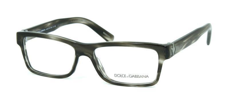 Dolce & Gabbana Black Gray Transparent Optical Eyeglasses Frame DG3129 2596