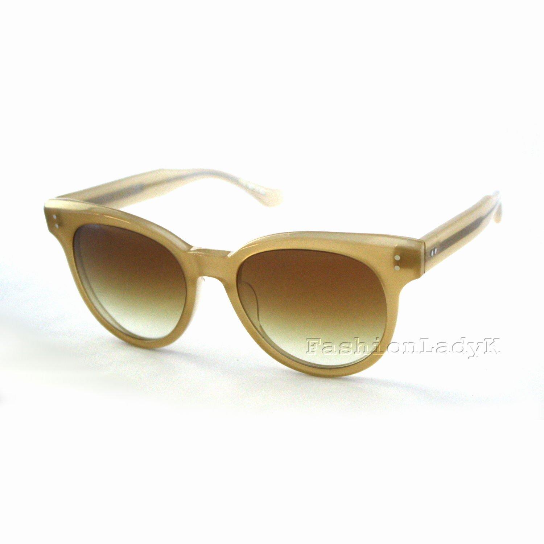 DITA Women Yellow Frame Brown Lens Sunglasses DITASUNSPOT 22028C-BRN New w/ Case