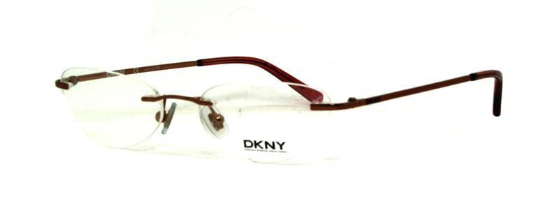 Donna Karan DKNY Copper Optical Eyeglasses Frame DY5536 1015 49mm New w/ Case