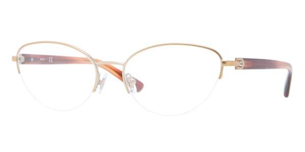 Donna Karan DKNY Women Gold Optical Eyeglasses Frame DY5644 1189 51mm