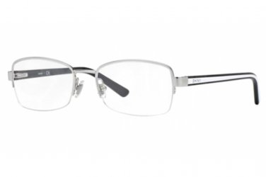 Donna Karan DKNY Silver Half Rim Optical Eyeglasses Frame DY5645 1002 53mm