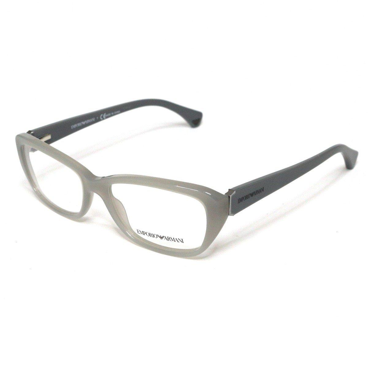 Emporio Armani Women Gray Optical Eyeglasses Frame EA3041 5258 55mm New w/ Case