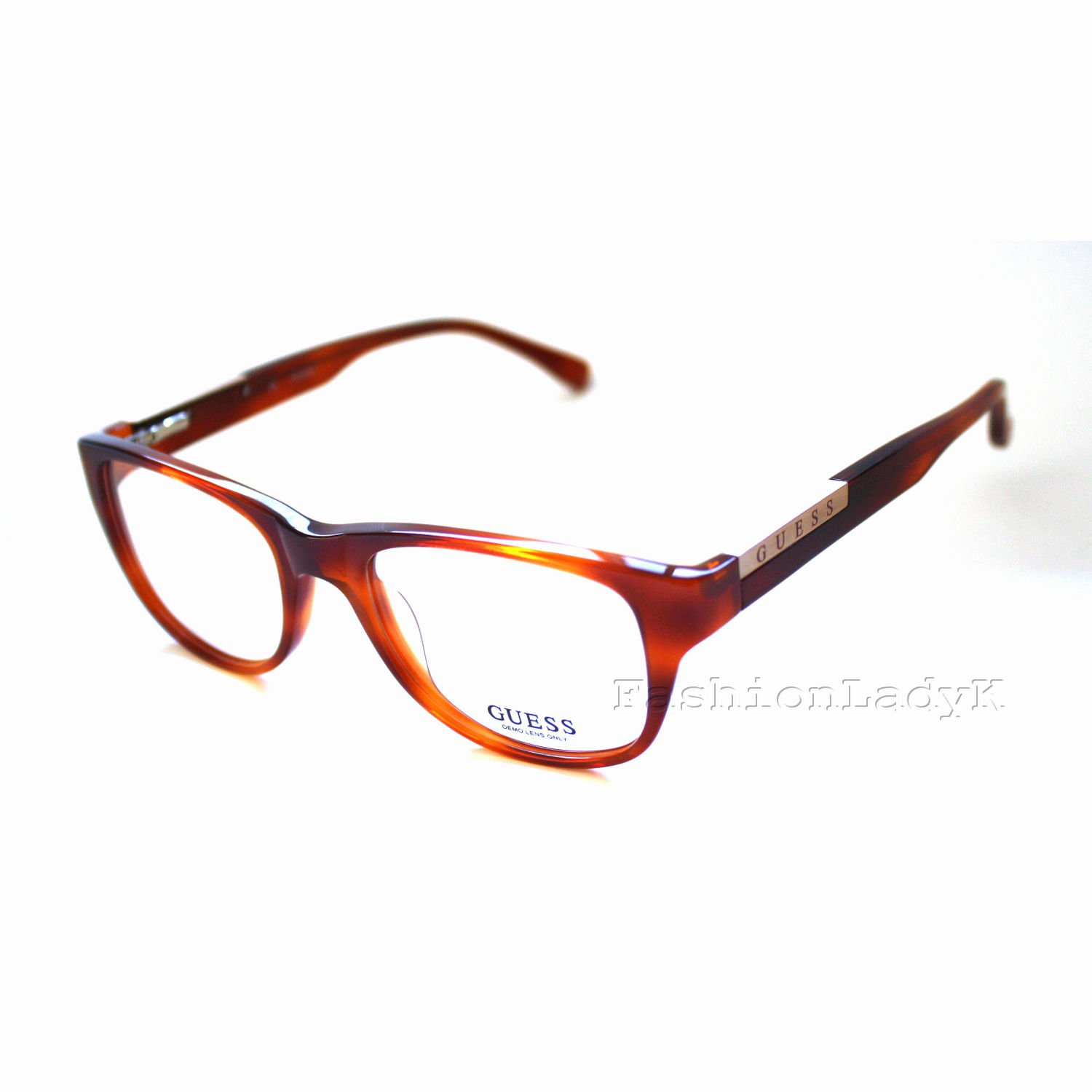 GUESS Brown Optical Eyeglasses Frame GU7137 HNY 50mm New w/ Case