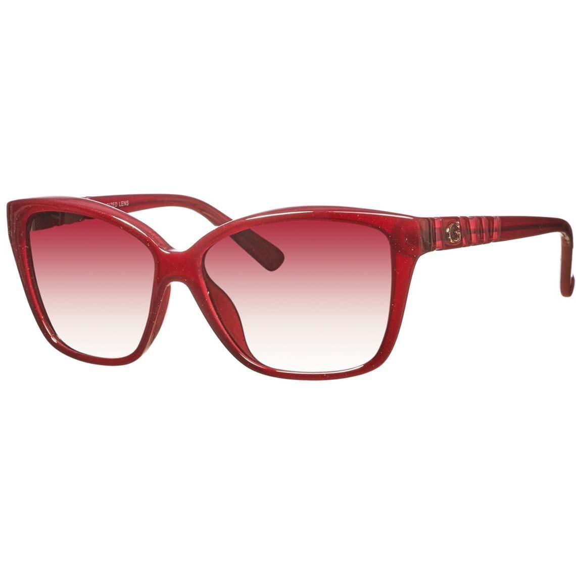 GUESS Women Red Sunglasses GUP2015 BU-52 New w/ Case